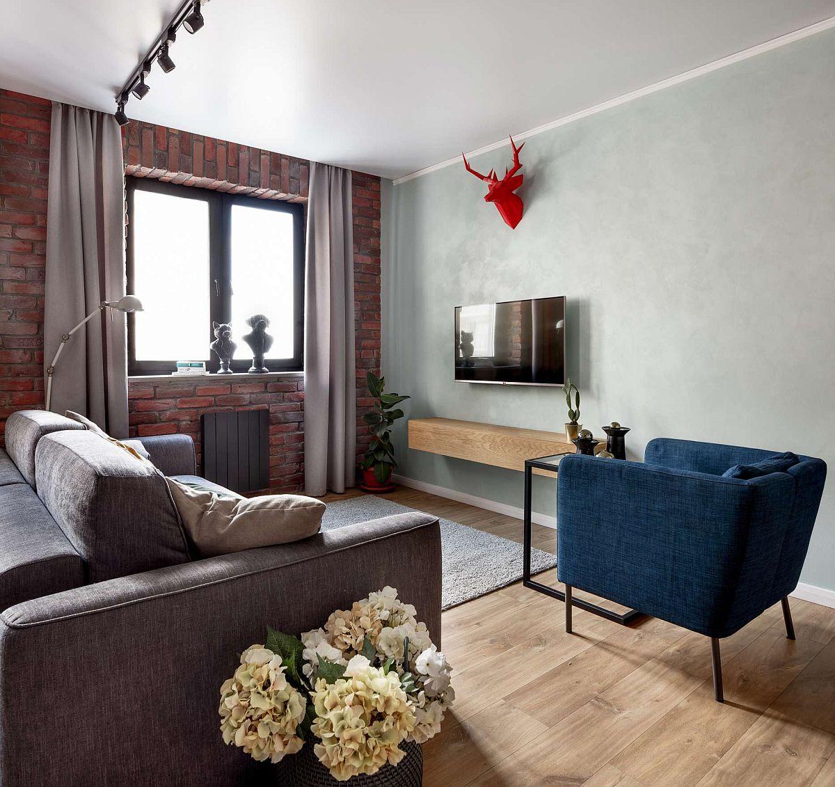 adelaparvu.com despre apartament 91 mp pentru o familie cu 4 copii, designer Aigul Sultanova, Foto Roman Spiridonov (2)