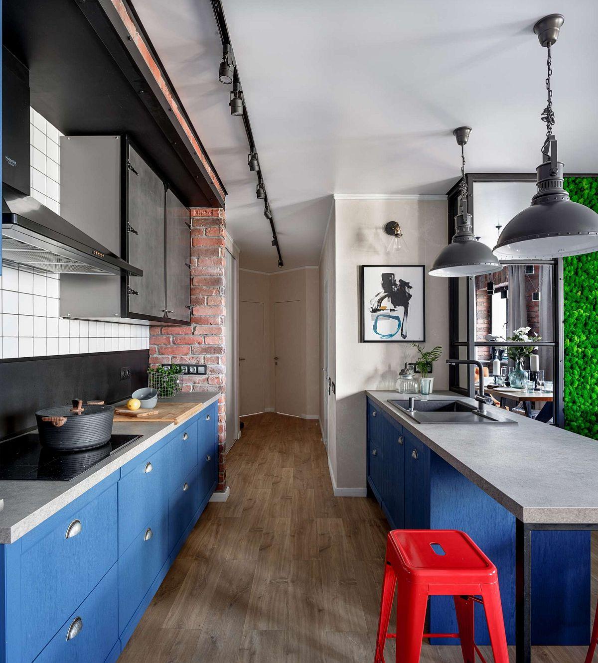 adelaparvu.com despre apartament 91 mp pentru o familie cu 4 copii, designer Aigul Sultanova, Foto Roman Spiridonov (3)