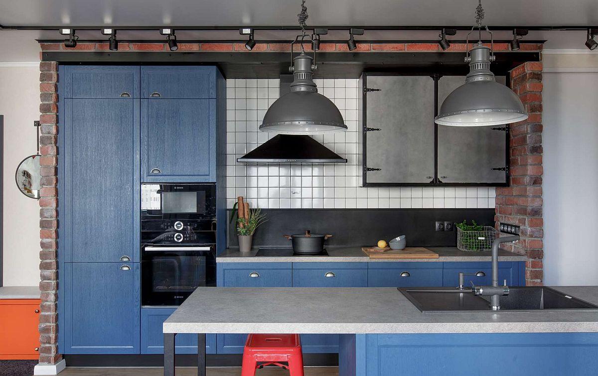 adelaparvu.com despre apartament 91 mp pentru o familie cu 4 copii, designer Aigul Sultanova, Foto Roman Spiridonov (5)