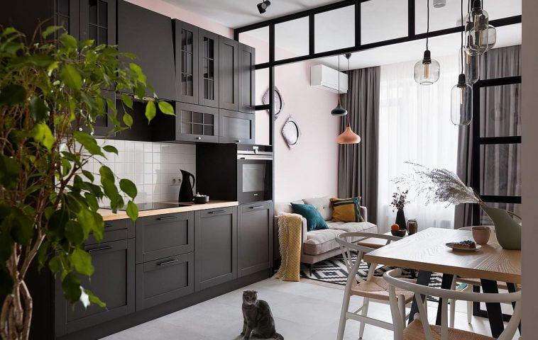 adelaparvu.com despre apartamnt 2 camere 49 mp, design V Concept Studio, Foto Andrey Avdeenko (1)