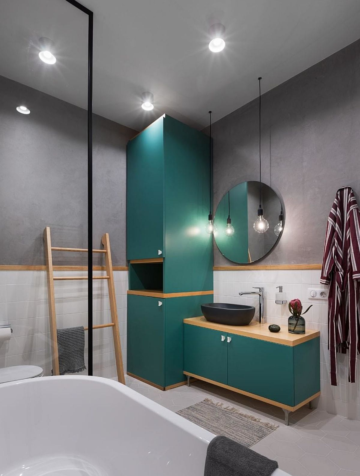 adelaparvu.com despre apartamnt 2 camere 49 mp, design V Concept Studio, Foto Andrey Avdeenko (10)