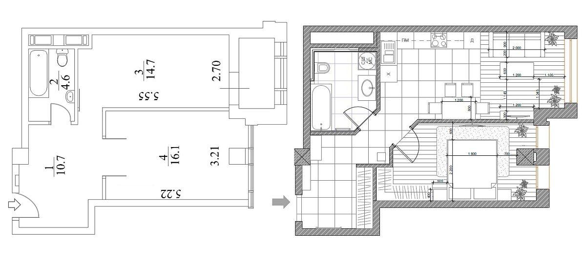adelaparvu.com despre apartamnt 2 camere 49 mp, design V Concept Studio, Foto Andrey Avdeenko (15)