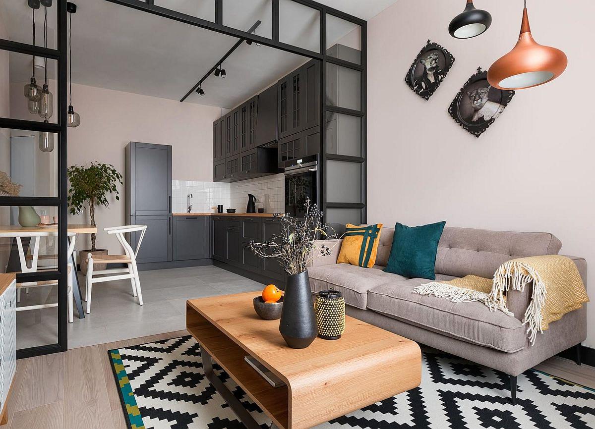 adelaparvu.com despre apartamnt 2 camere 49 mp, design V Concept Studio, Foto Andrey Avdeenko (2)