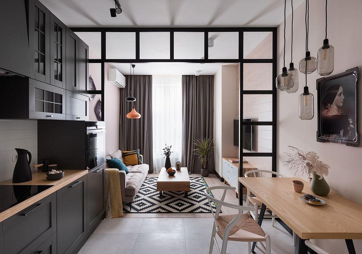adelaparvu.com despre apartamnt 2 camere 49 mp, design V Concept Studio, Foto Andrey Avdeenko (3)