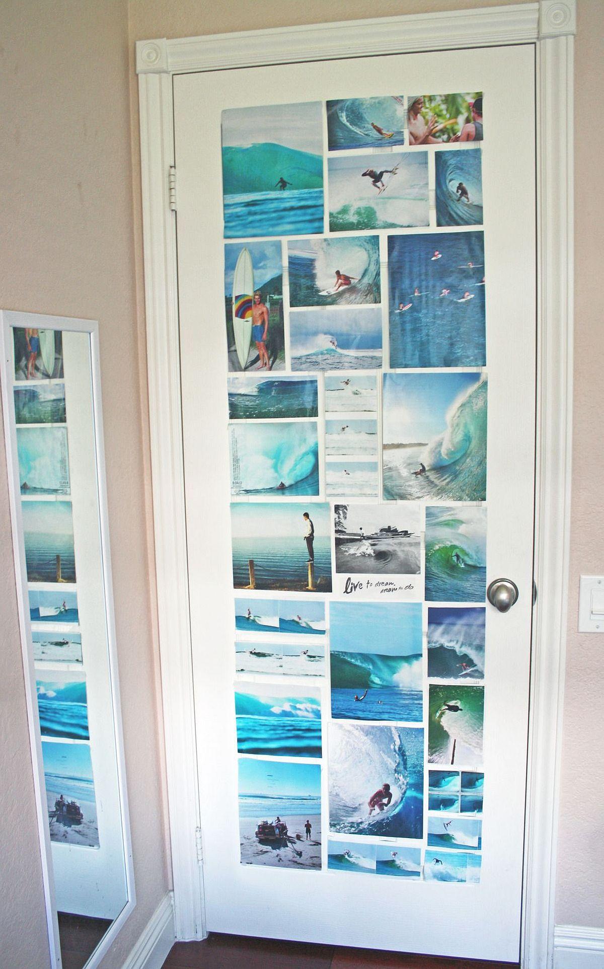 adelaparvu.com despre idei decorare usa interioara cu fotografii