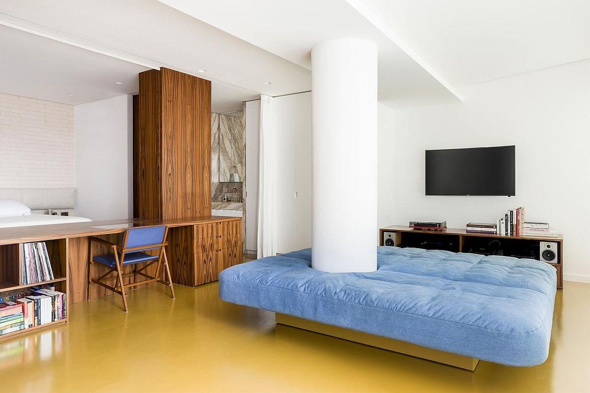 adelaparvu.com despre transformare apartament 70 mp, design Pascali Semerdjian Arquitetos (10)