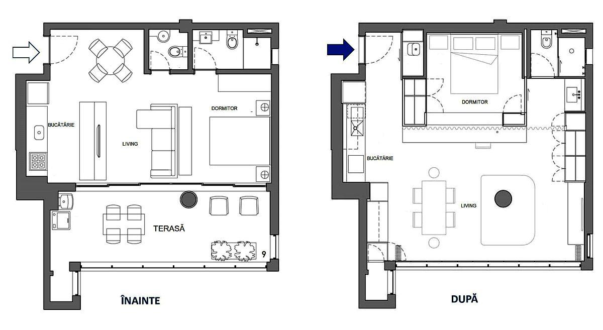 adelaparvu.com despre transformare apartament 70 mp, design Pascali Semerdjian Arquitetos (13)