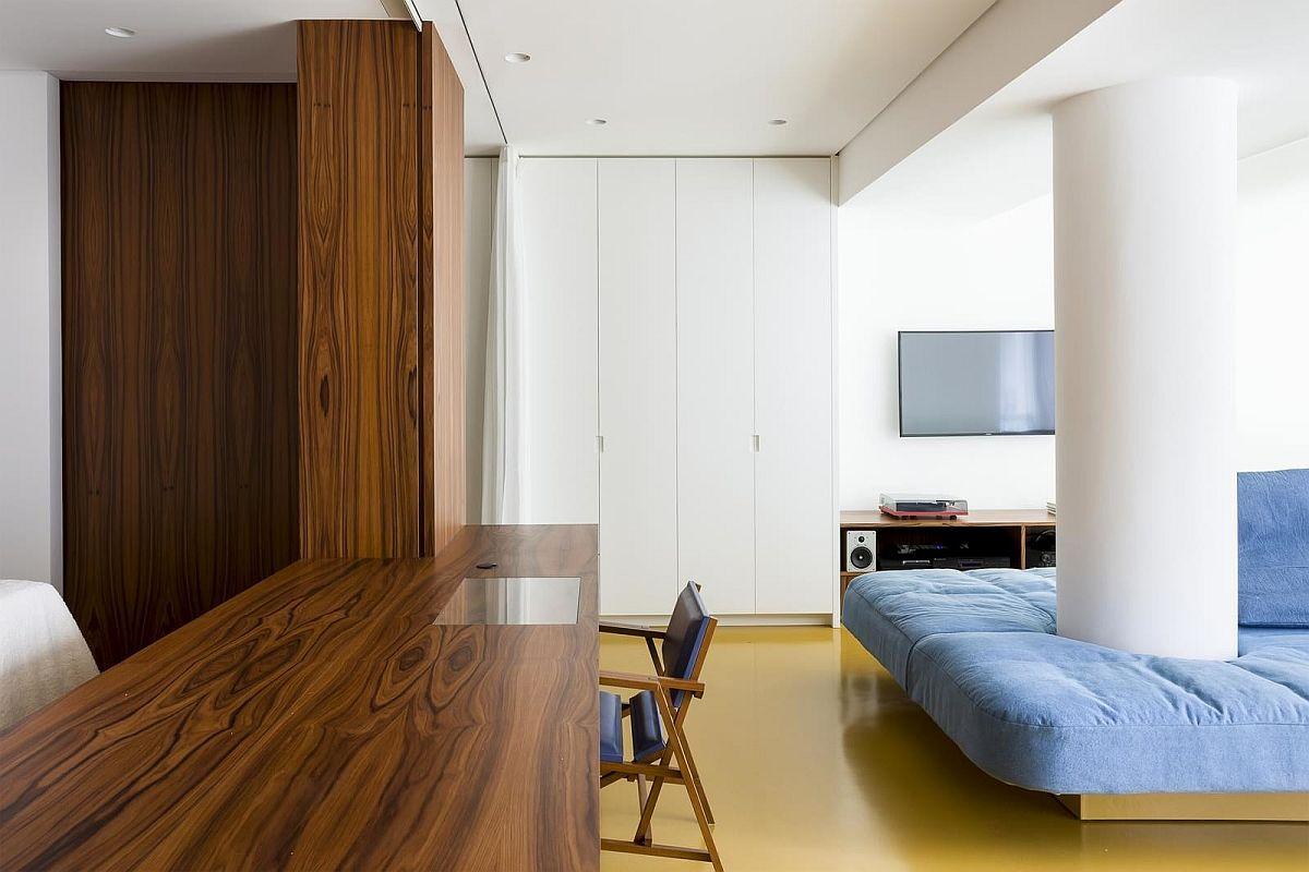 adelaparvu.com despre transformare apartament 70 mp, design Pascali Semerdjian Arquitetos (4)