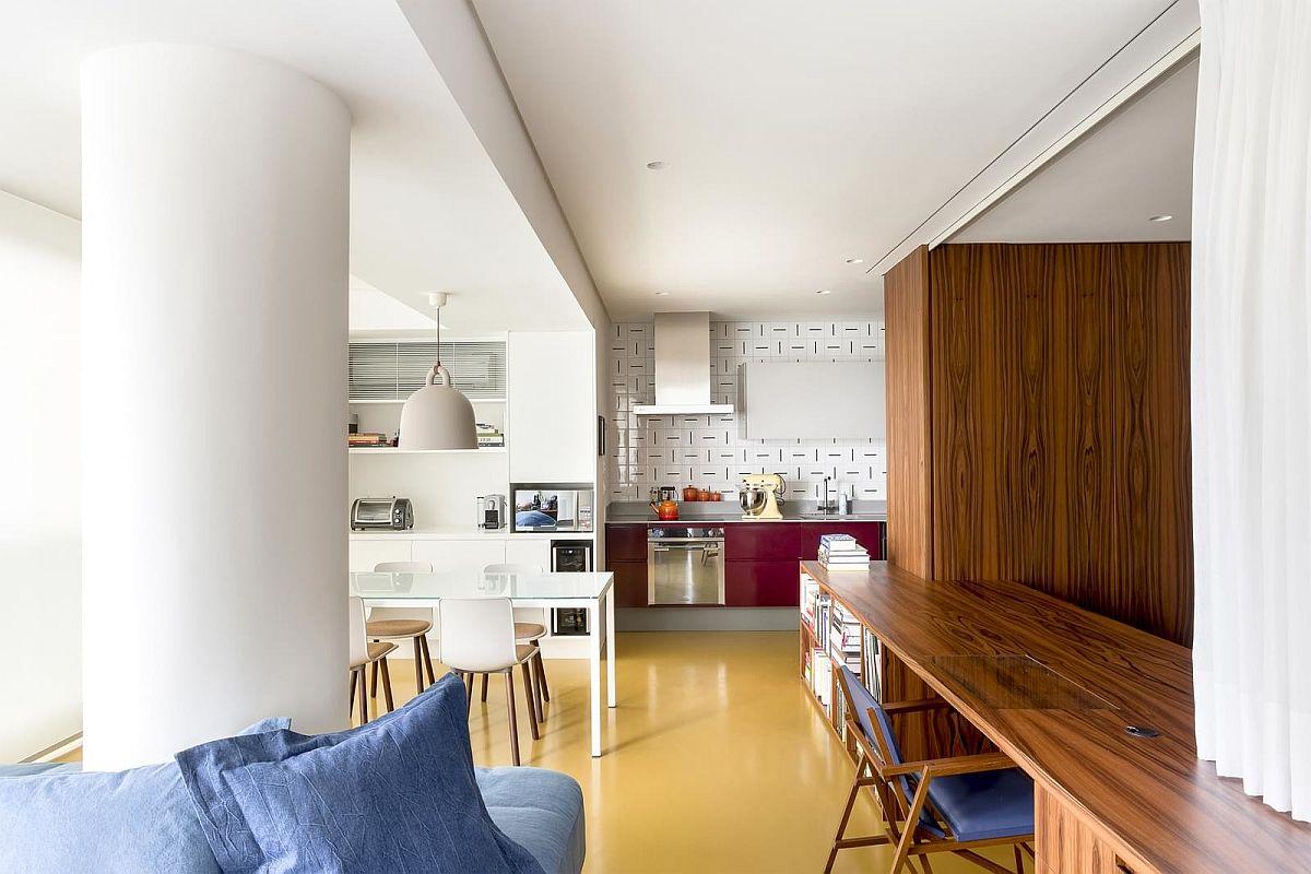 adelaparvu.com despre transformare apartament 70 mp, design Pascali Semerdjian Arquitetos (7)
