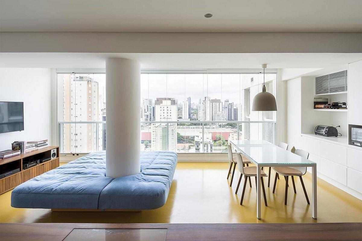 adelaparvu.com despre transformare apartament 70 mp, design Pascali Semerdjian Arquitetos (8)