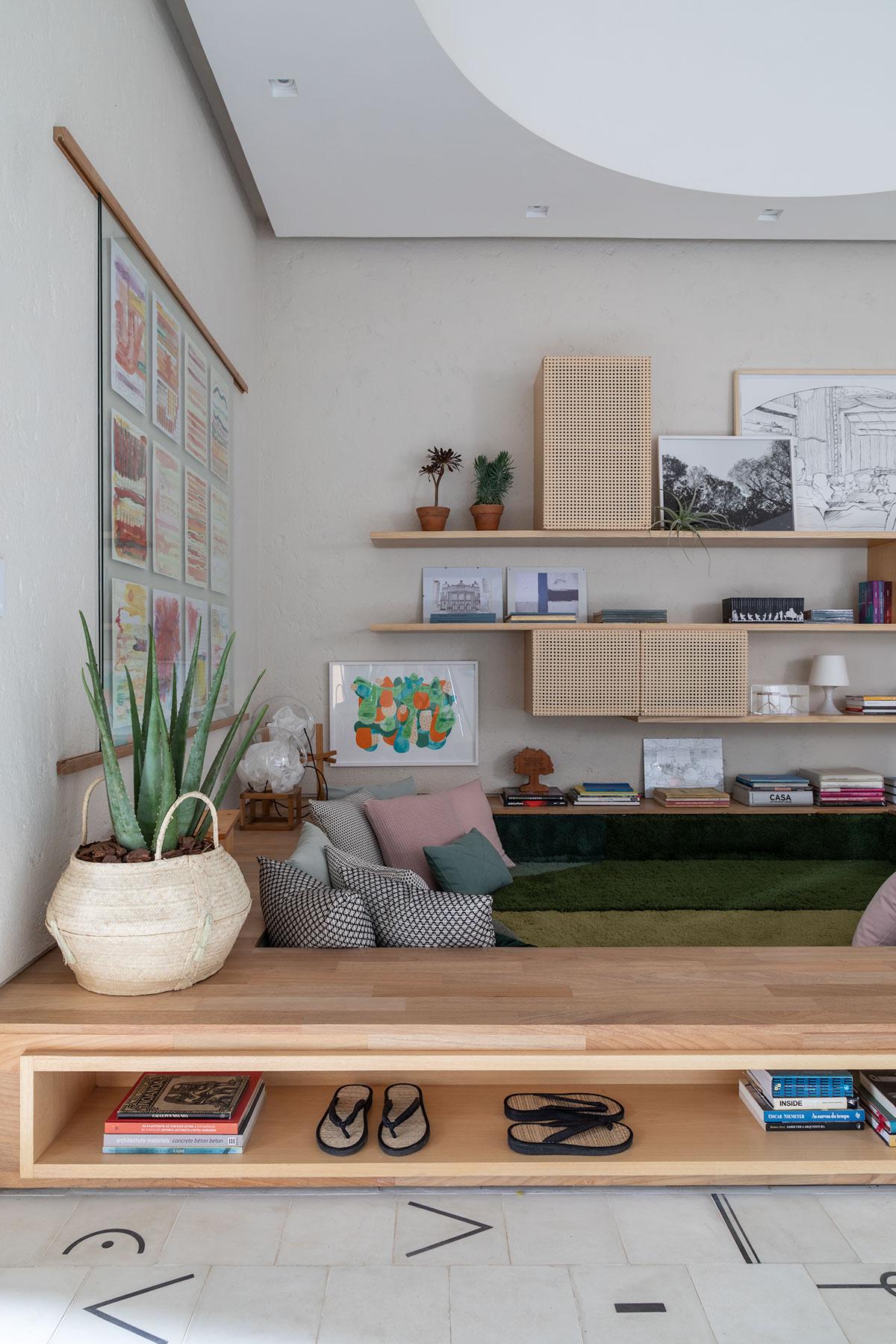 adelaparvu.com despre amenajare living, concept Casa Cor 2019, design interior Ana Sawaia, Foto Evelyn Muller (1)