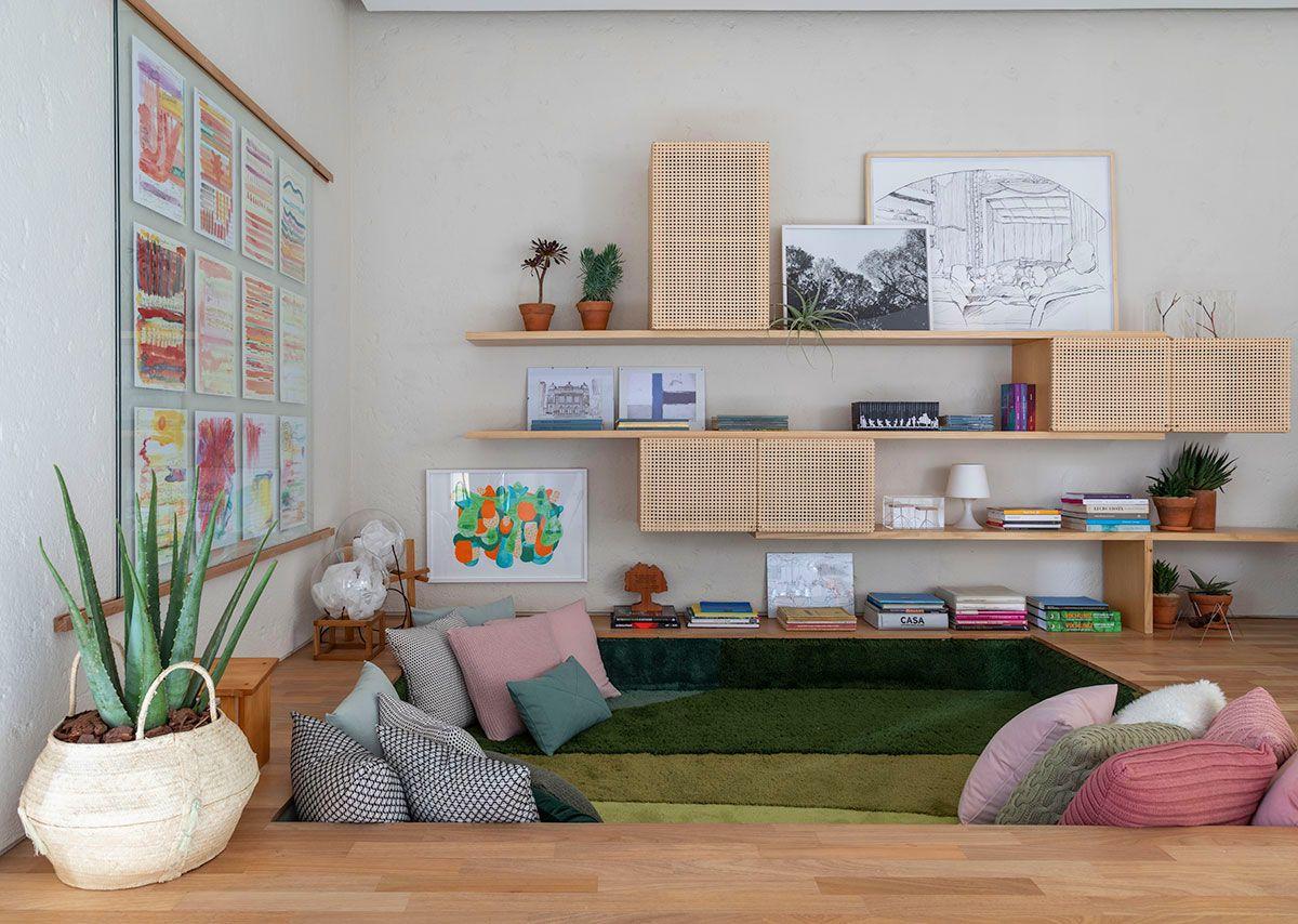 adelaparvu.com despre amenajare living, concept Casa Cor 2019, design interior Ana Sawaia, Foto Evelyn Muller (10)