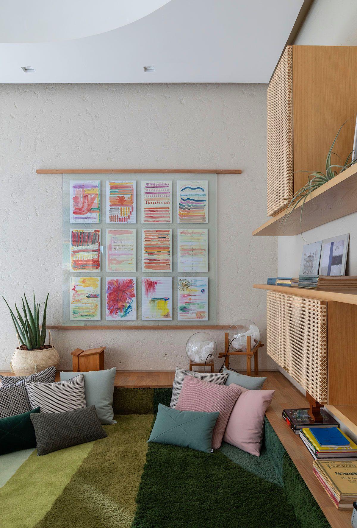 adelaparvu.com despre amenajare living, concept Casa Cor 2019, design interior Ana Sawaia, Foto Evelyn Muller (2)
