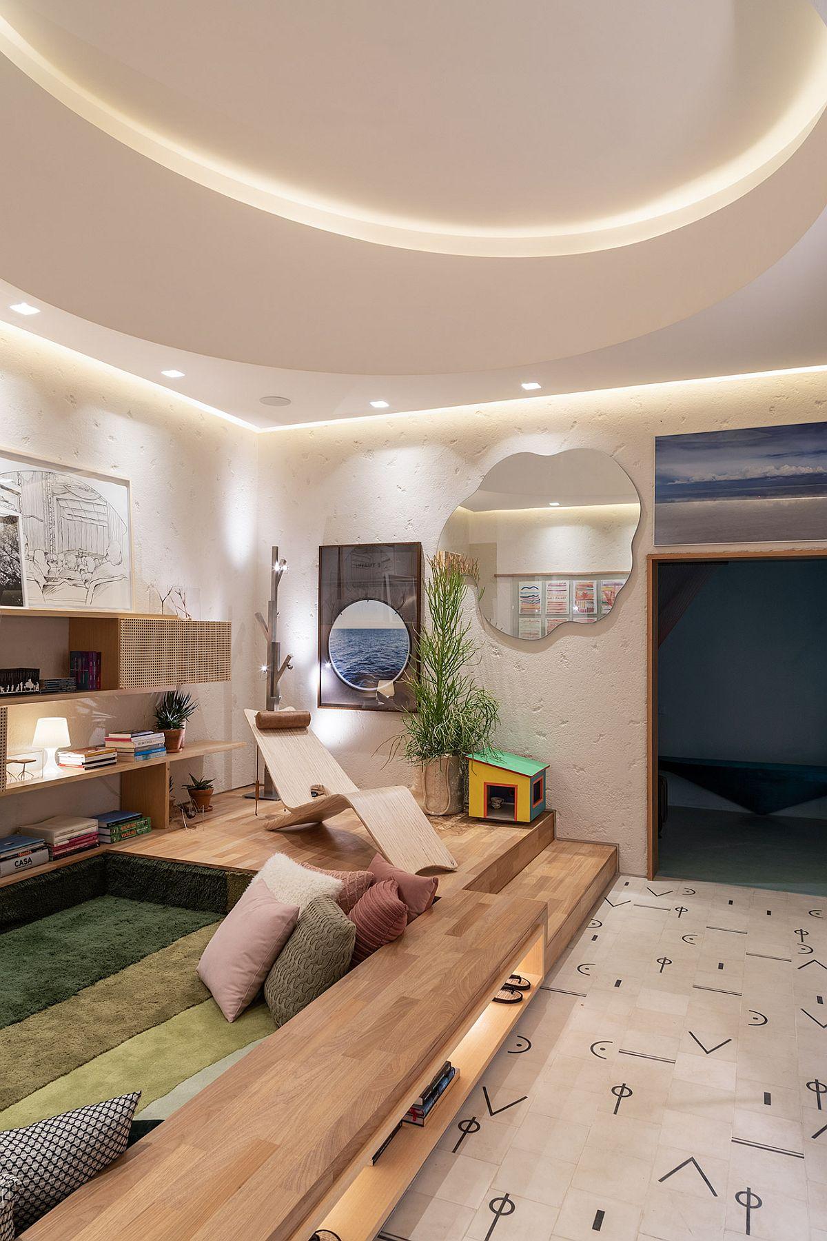 adelaparvu.com despre amenajare living, concept Casa Cor 2019, design interior Ana Sawaia, Foto Evelyn Muller (9)
