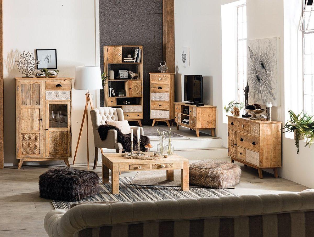 Colecția de mic mobilier Karma. Vezi piesele, materialele, dimensiunile și prețurile lor AICI