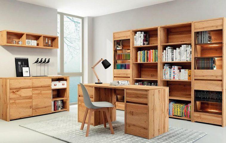 Gama de mobilier Tahoe. Piese similare sunt disponibile și pentru mobilarea holului și a dormitorului. Vezi număr piese, materiale, dimensiuni și prețuri AICI.