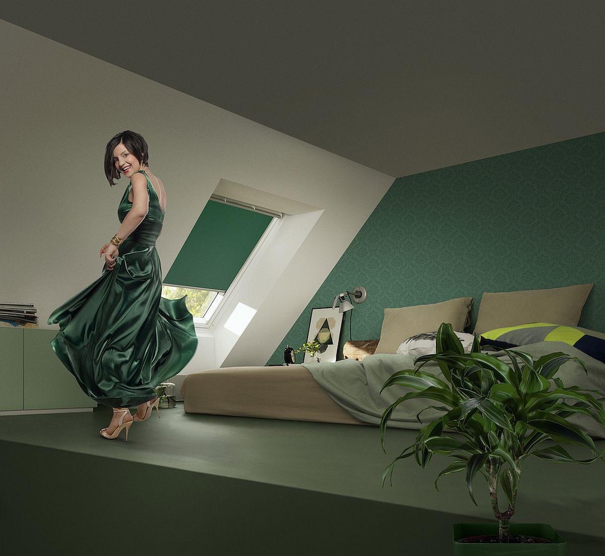 adelaparvu.com despre rolete pentru ferestre mansarda Velux colectia Color by you (1)