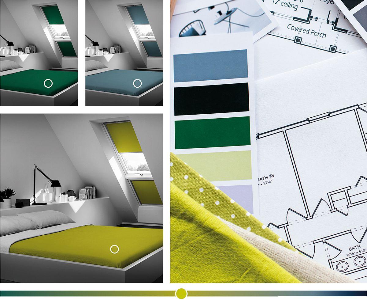 adelaparvu.com despre rolete pentru ferestre mansarda Velux colectia Color by you (2)