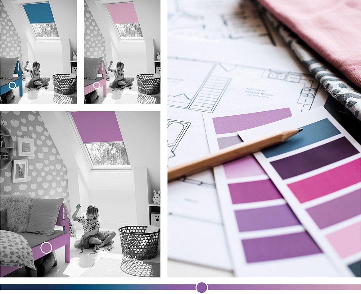 adelaparvu.com despre rolete pentru ferestre mansarda Velux colectia Color by you (3)