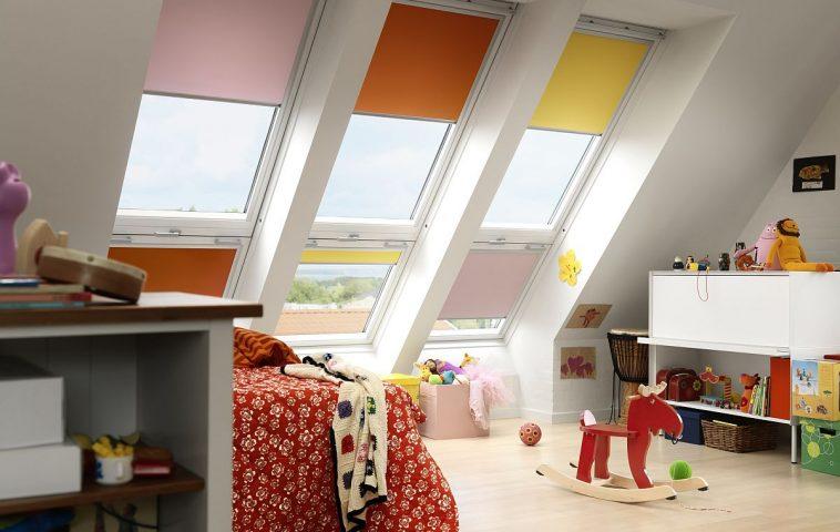 adelaparvu.com despre rolete pentru ferestre mansarda Velux colectia Color by you (4)