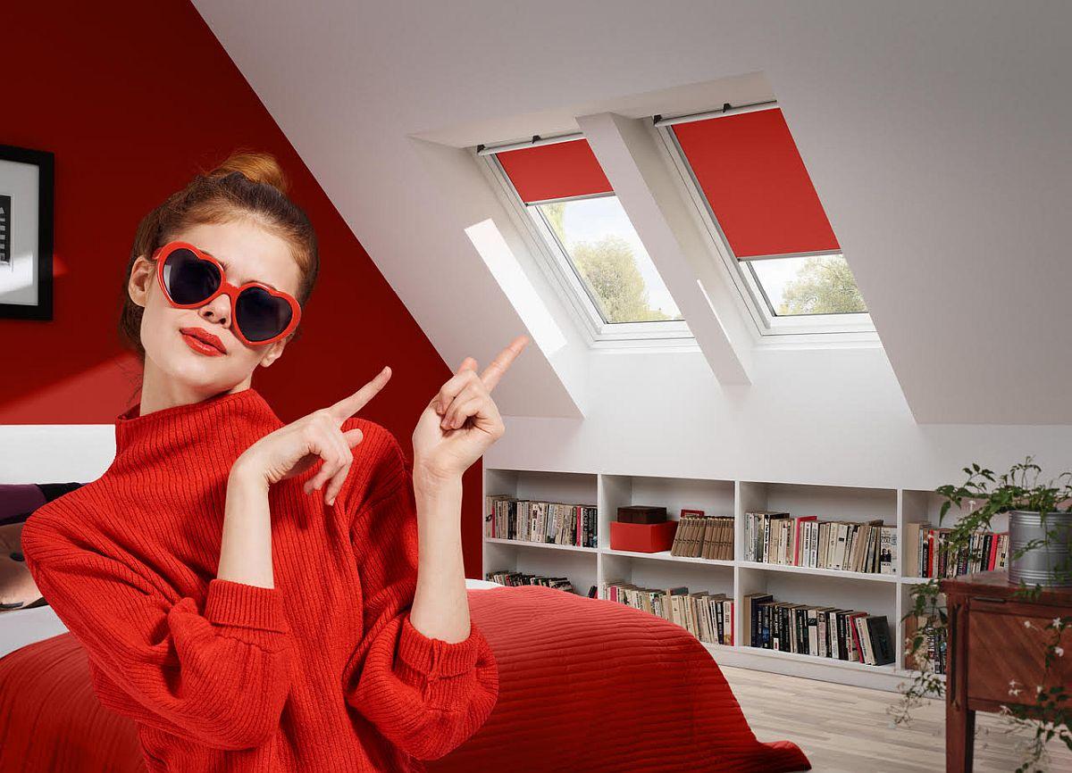 adelaparvu.com despre rolete pentru ferestre mansarda Velux colectia Color by you (5)