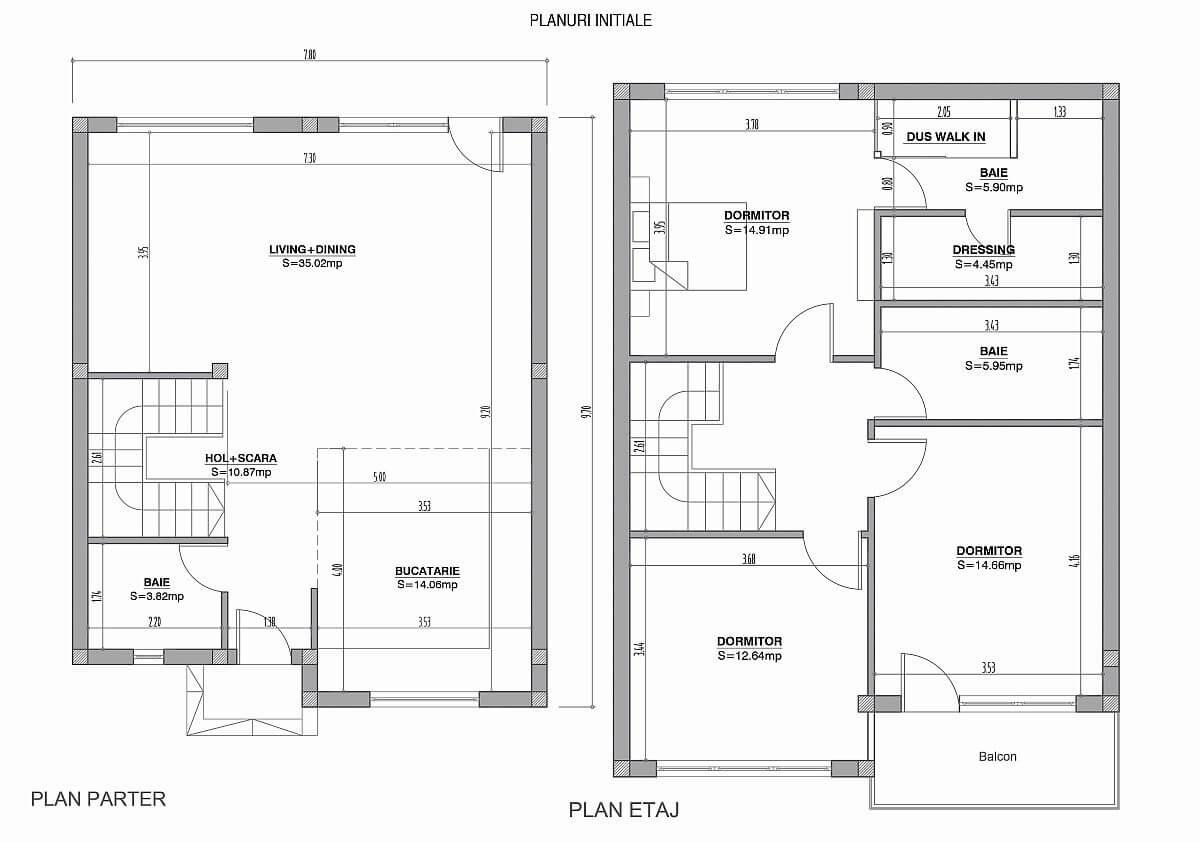 adelaparvu.com despre amenajare casa 144 mp Bucuresti, design interior Next Interior (1)