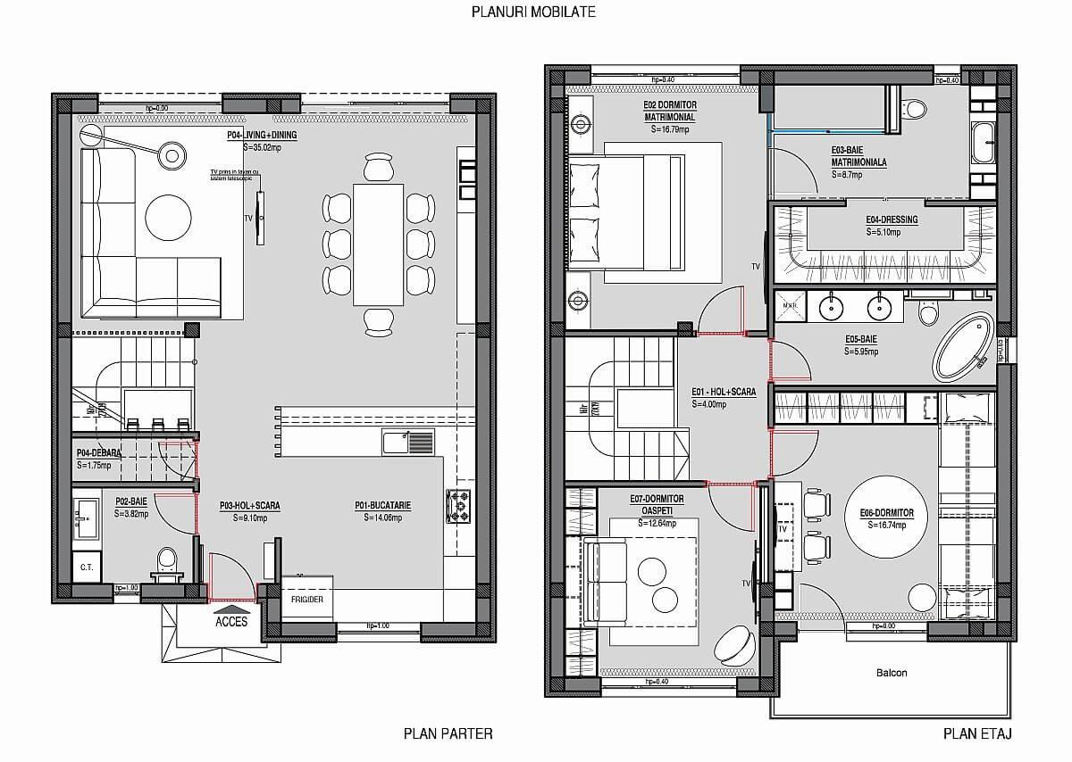 adelaparvu.com despre amenajare casa 144 mp Bucuresti, design interior Next Interior (2)