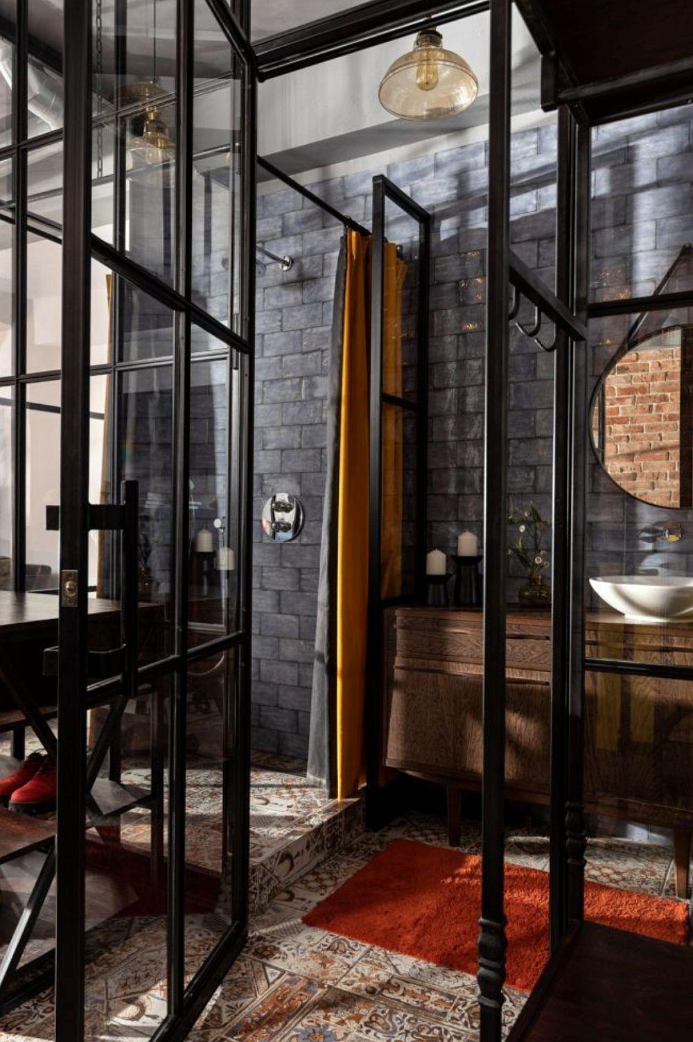 adelaparvu.com despre amenajare duplex loft 70 mp, design Irina Bogatikova, Foto Vladimir Chernyadyev (70)