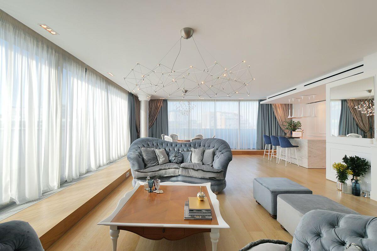 adelaparvu.com despre amenajare penthouse 140 mp, design Miso Architects, Foto Vlad Eftenie (4)