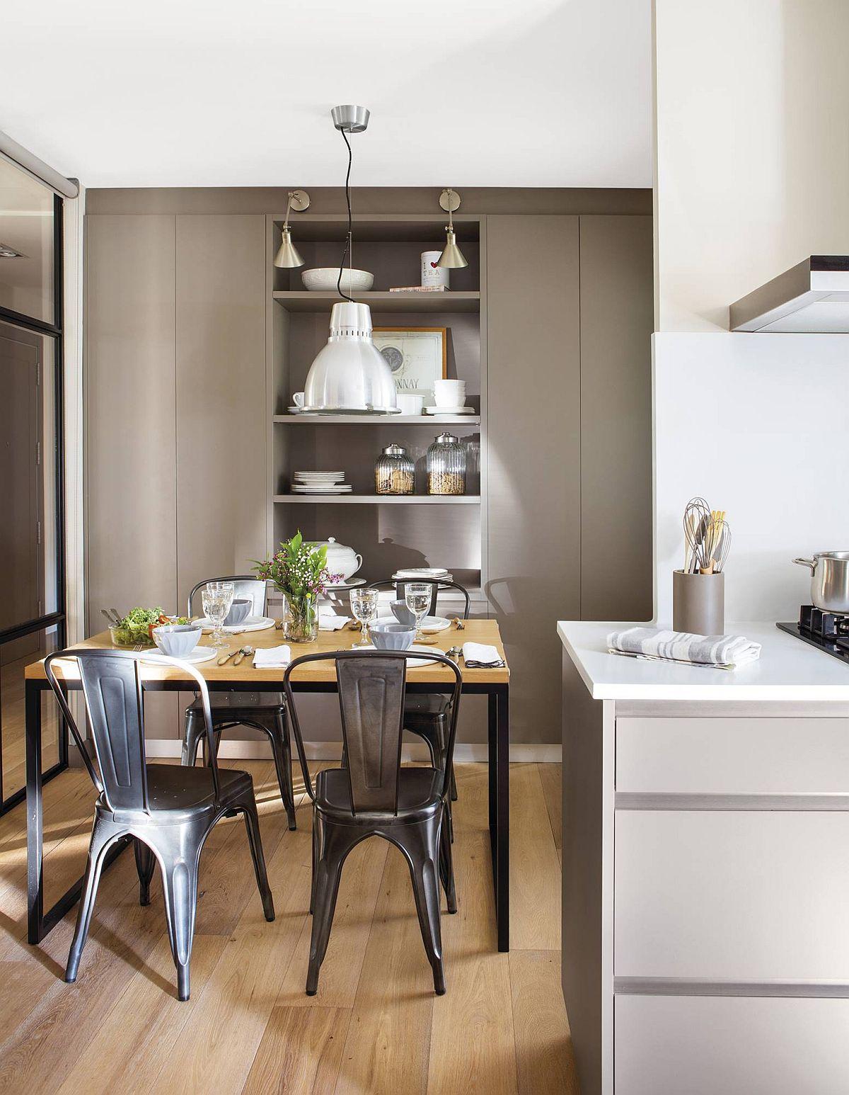 adelaparvu.com despre apartament amenajat in tonuri de bej, design Chari Manzano si Marta Herrera, Foto Pepa Oromi (1)