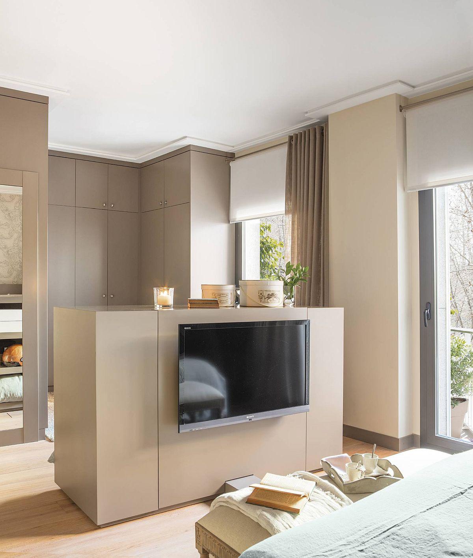 adelaparvu.com despre apartament amenajat in tonuri de bej, design Chari Manzano si Marta Herrera, Foto Pepa Oromi (10)
