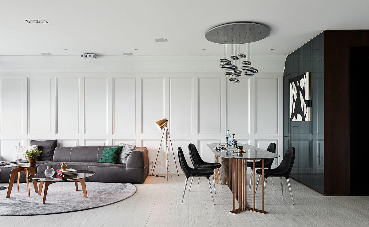 adelaparvu.com despre apartament in stil clasic reinterpretat, 165 mp, design HAO Design, Foto HeyCheese (3)