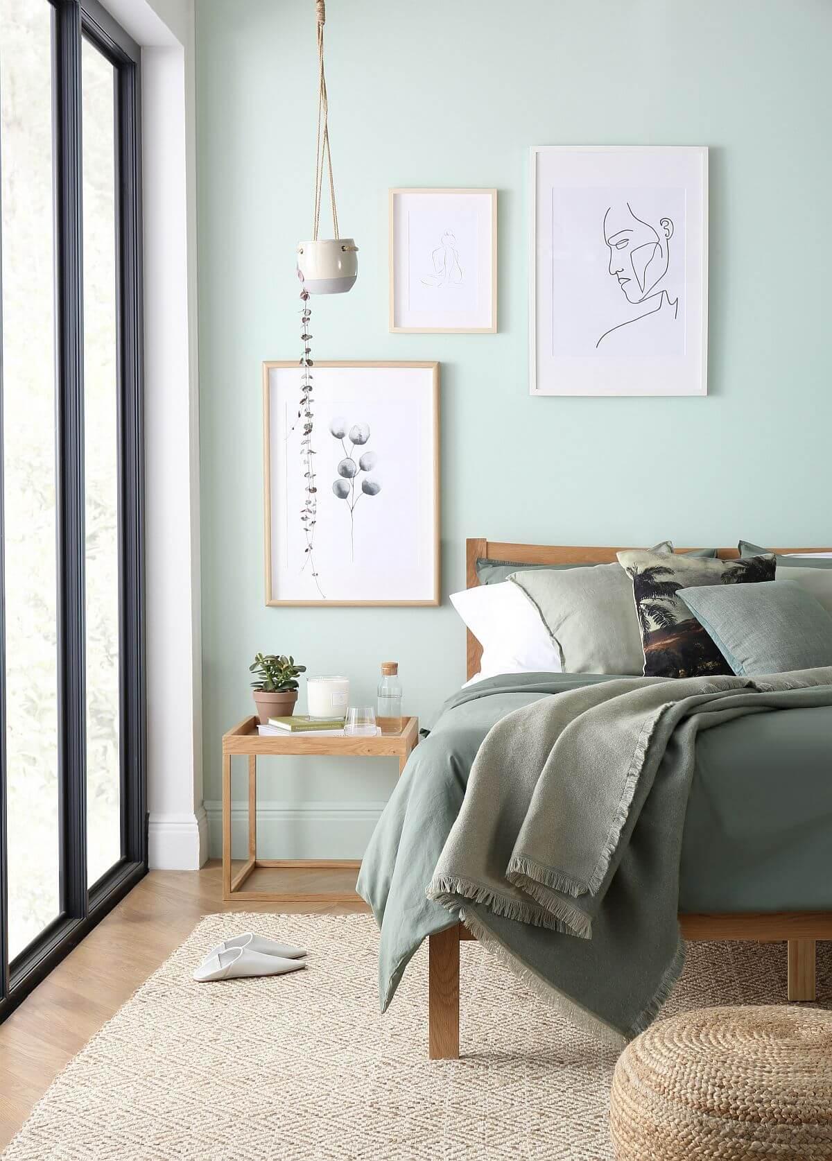 adelaparvu.com despre culoarea anului 2020 Dulux, Foto Press Loft - Bergamo Bed