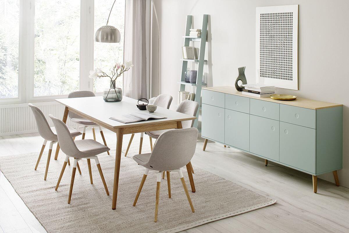 adelaparvu.com despre culoarea anului 2020 Dulux, Foto Press Loft -Scandi - Sideboard- Groß von CADA Design