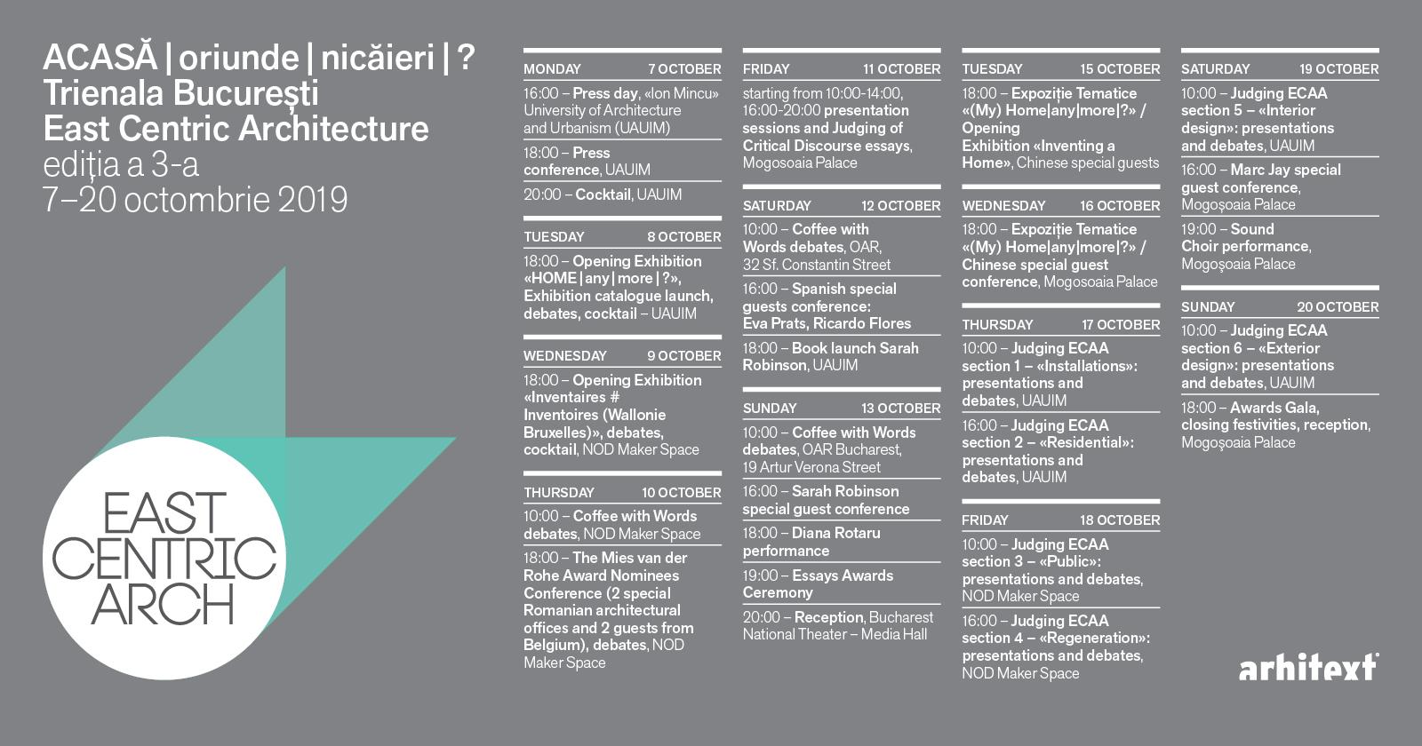 adelaparvu.com despre Trienala de Arhitectura Bucuresti, organizator Arhitext (1)