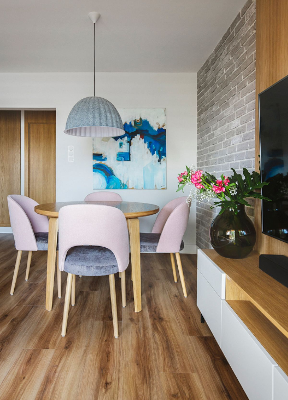 adelaparvu.com despre amenajare apartament 4 camere, 70 mp, design Kowalczyk-Gajda, Foto Kroniki Studio (11)