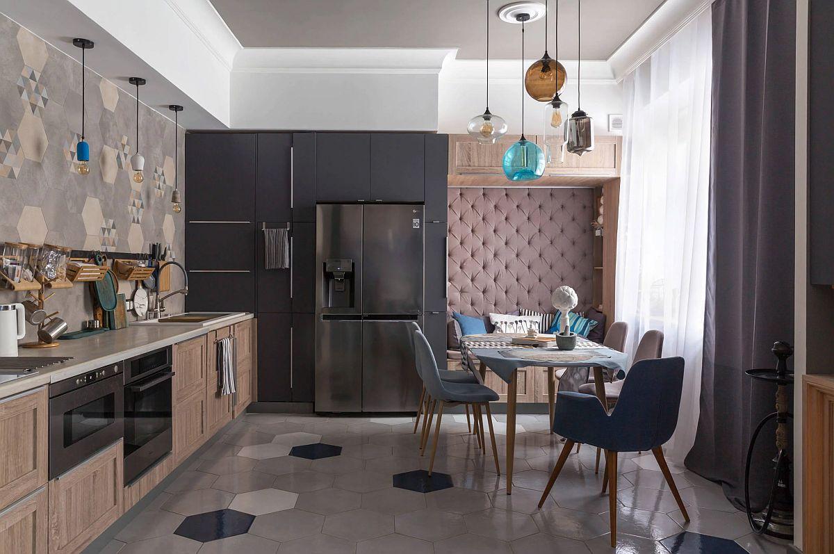 adelaparvu.com despre amenajare apartament 83 mp, designer Olga Smolenskaya, Foto Ulyana Grishina (4)