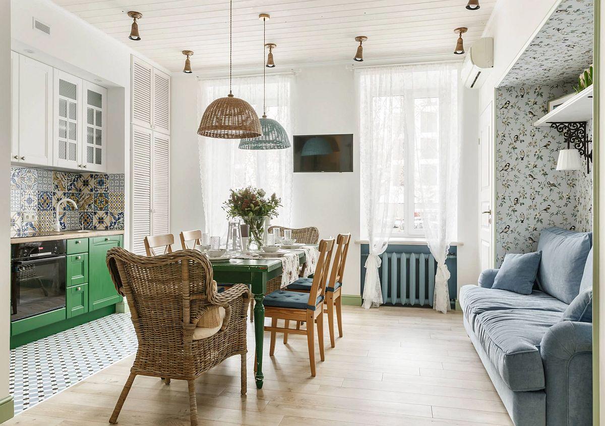 adelaparvu.com despre apartament 80 mp in stil rustic elegant, designer Ira Nosova, Foto Olga Shangina (4)