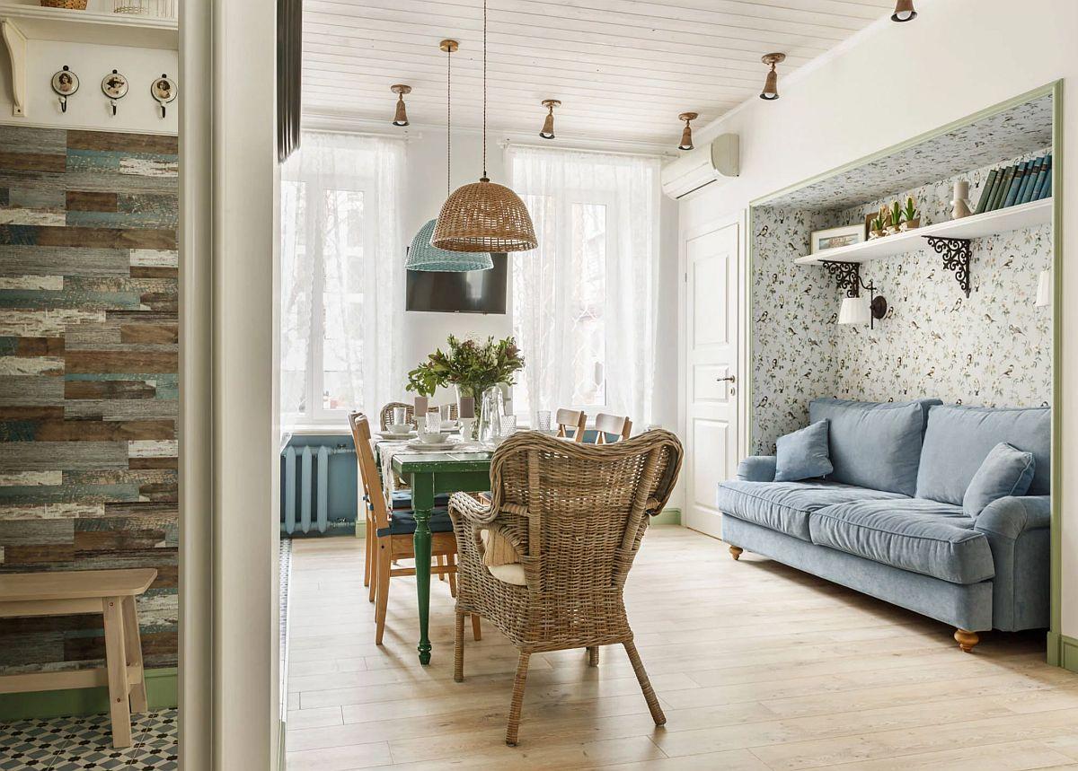adelaparvu.com despre apartament 80 mp in stil rustic elegant, designer Ira Nosova, Foto Olga Shangina (6)