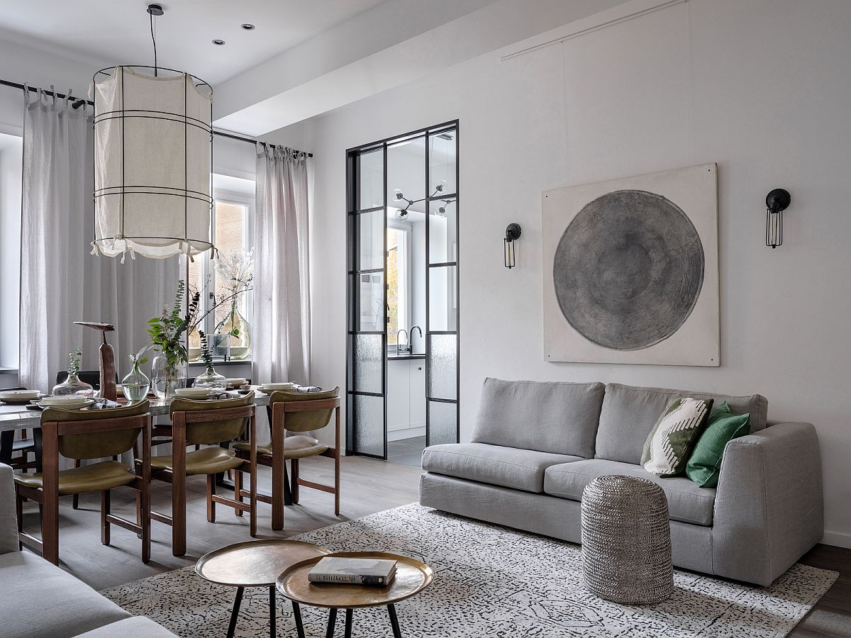 adelaparvu.com despre apartament 90 mp, design Minina Design, Foto Mikhail Loskutov (10)