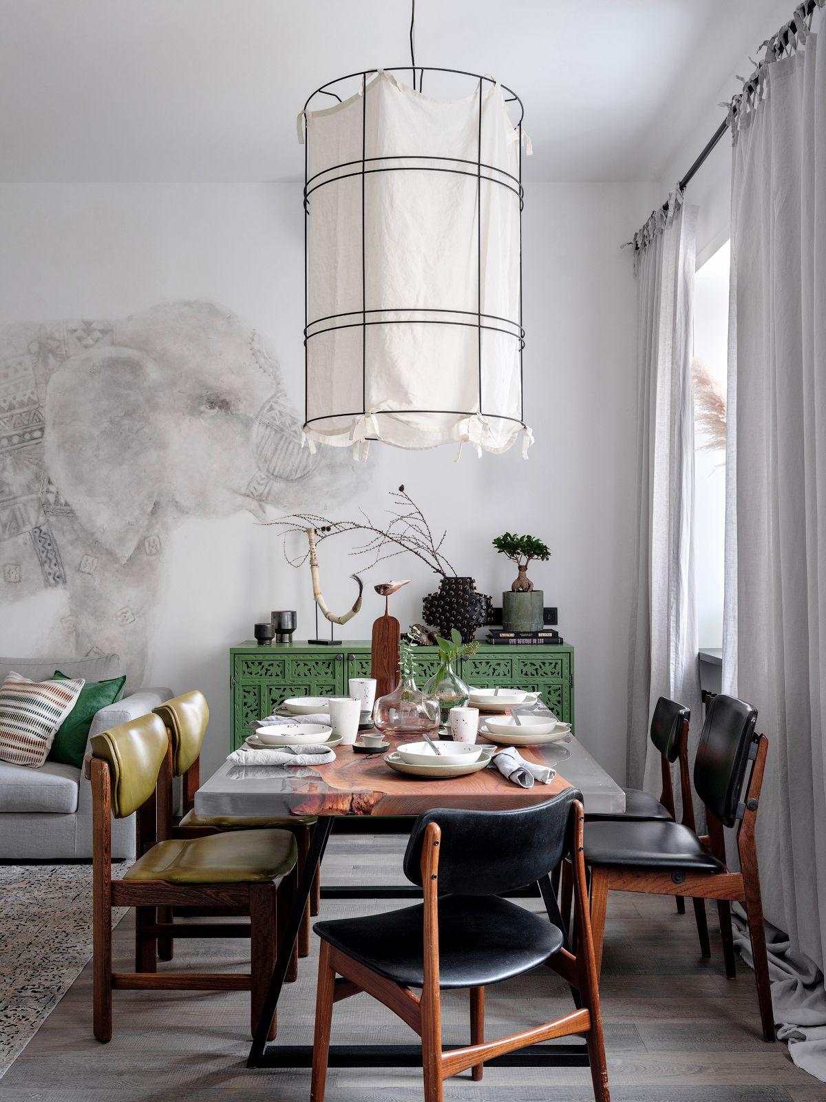 adelaparvu.com despre apartament 90 mp, design Minina Design, Foto Mikhail Loskutov (12)