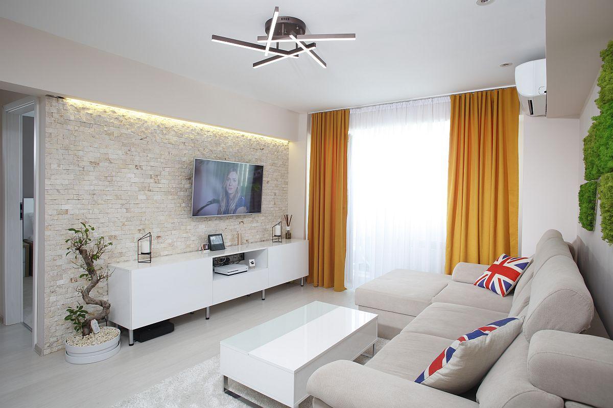 adelaparvu.com despre apartament de 56 mp Bucuresti, design arh. Cristian Patrascu, Foto Iulian Iacob (1)