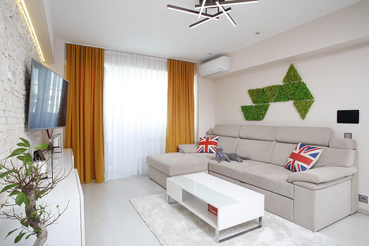 adelaparvu.com despre apartament de 56 mp Bucuresti, design arh. Cristian Patrascu, Foto Iulian Iacob (2)