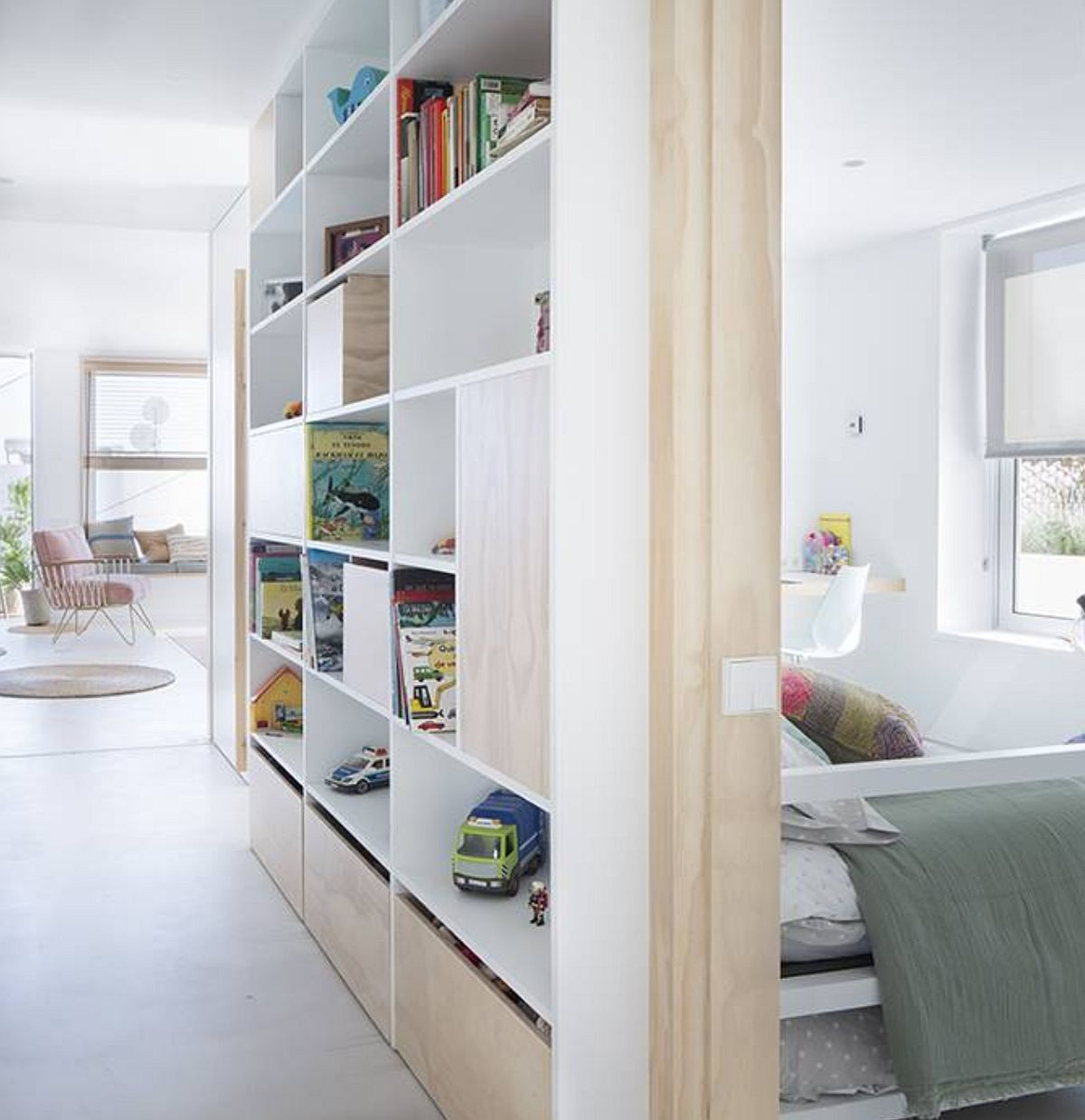 adelaparvu.com despre apartament de 70 mp, design Moser Mur Arquitectura, Foto ElMueble (4)