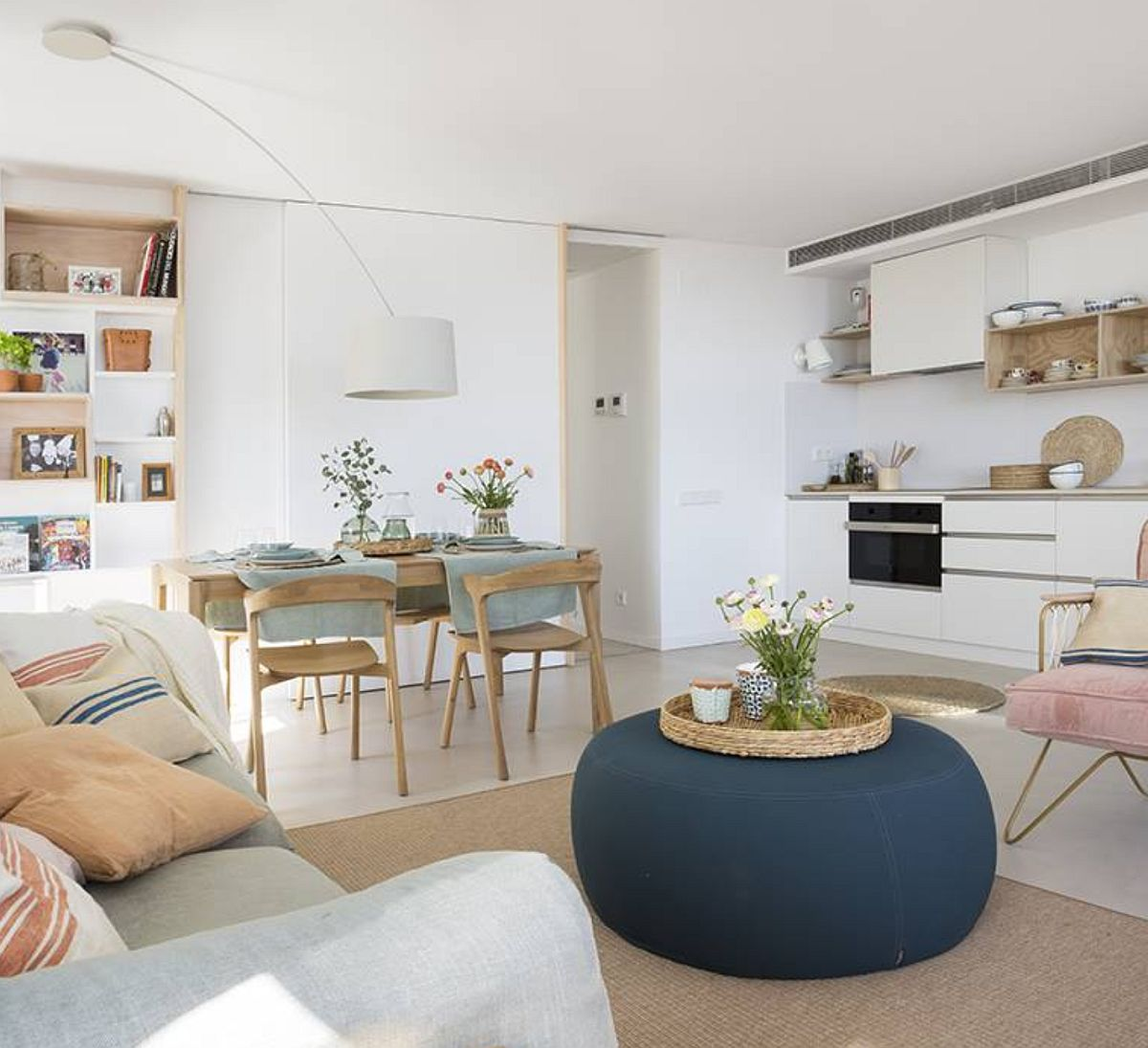 adelaparvu.com despre apartament de 70 mp, design Moser Mur Arquitectura, Foto ElMueble (6)
