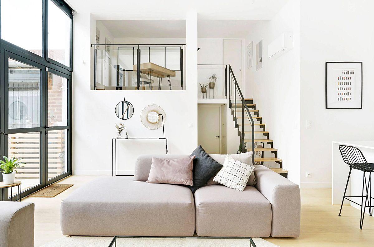 adelaparvu.com despre depozit transformat in loft 95 mp, designer Marion Tixier, Foto Eddy Boulares (10)