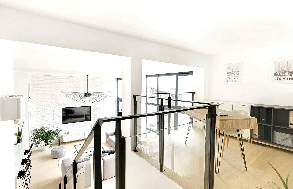 adelaparvu.com despre depozit transformat in loft 95 mp, designer Marion Tixier, Foto Eddy Boulares (12)