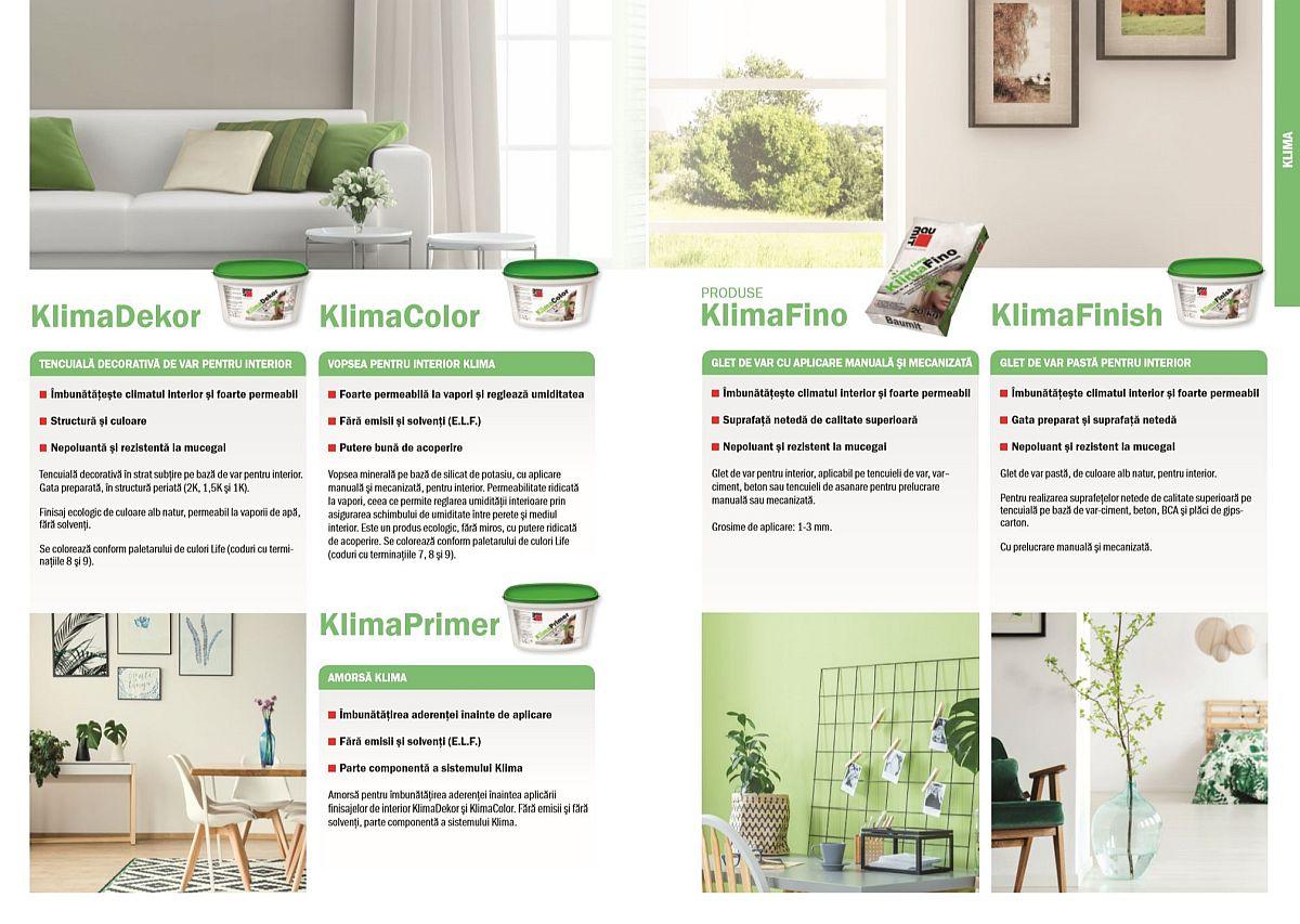 adelaparvu.com despre materiale de constructii sanatoase, gama Klima de la Baumit, Foto Baumit (1)
