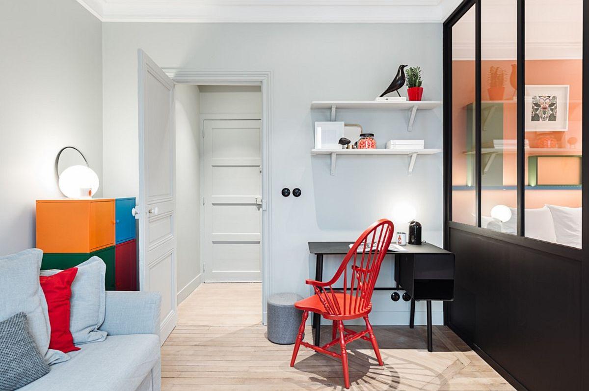 adelaparvu.com despre renovare apartament 35 mp, Nantes, designer Pierre-Edouard Milochau, Foto Decodheure, Caroline Morin (1)