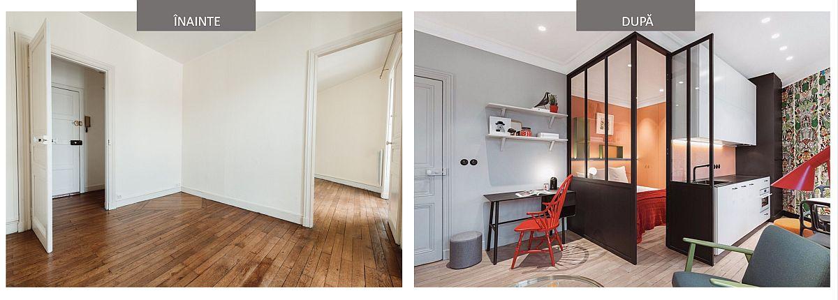 adelaparvu.com despre renovare apartament 35 mp, Nantes, designer Pierre-Edouard Milochau, Foto Decodheure, Caroline Morin (14)